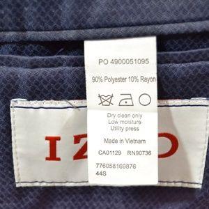 Izod Suits & Blazers - Izod 44S Sport Coat Blazer Suit Jacket Navy Polyes